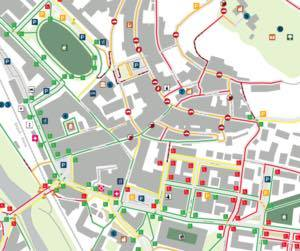 Castel Fiorentini Accessibility Map.