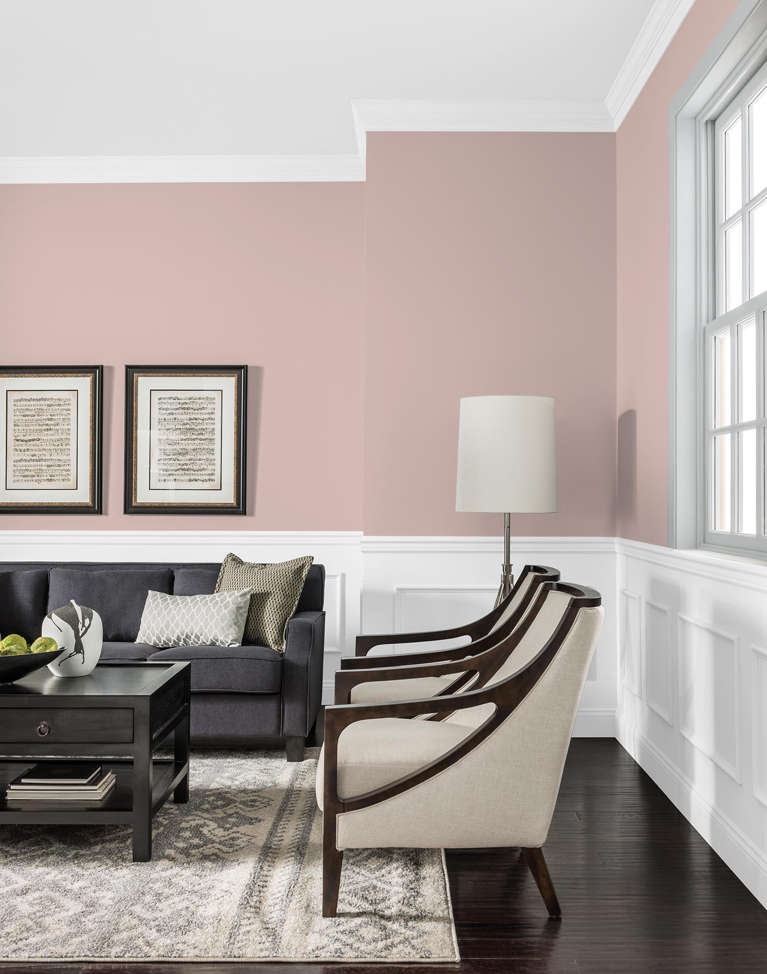 Rose Gold Paint Wall Novocom Top
