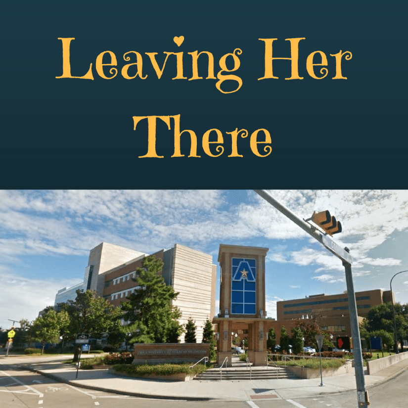Leaving Her There