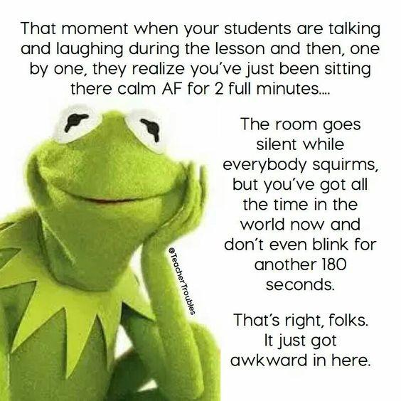 Kermit calm