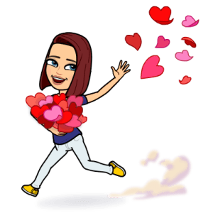 Bitmoji with Hearts