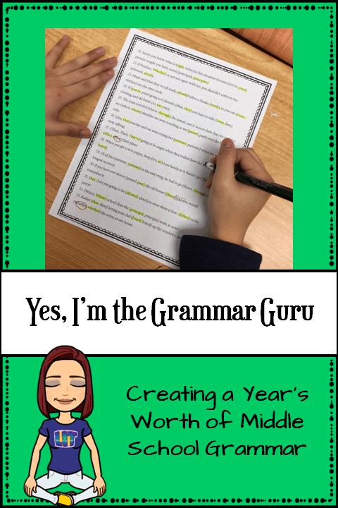 Grammar Guru Pin