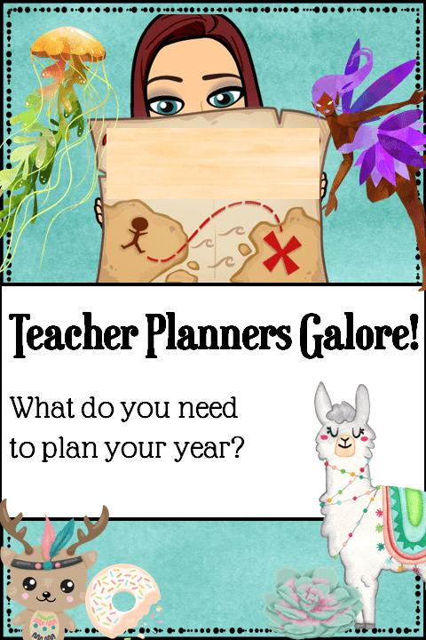 Teacher Planner Blog Pin