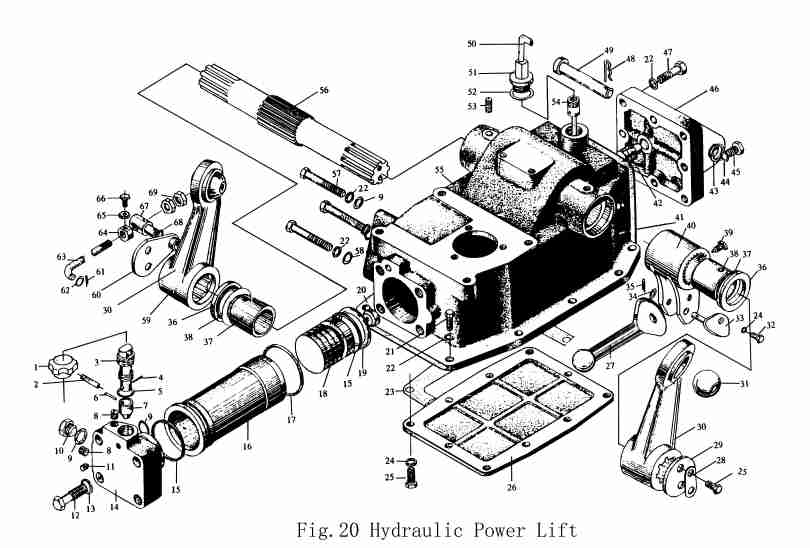 Massey Ferguson 231 Parts Diagram