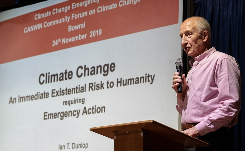 CANWin Community Forum declares Climate Emergency