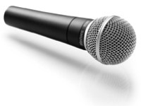The world's most popular dynamic vocal microphone.