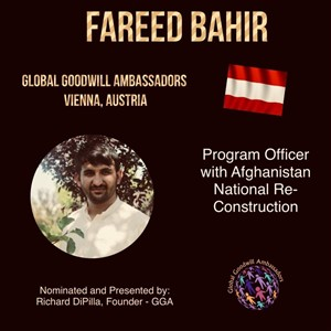 Fareed Bahir - Global Goodwill Ambassador