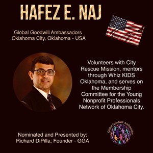 Hafez E. Naj - Global Goodwill Ambassador