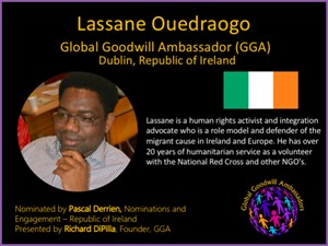 Lassane Ouedraogo - Global Goodwill Ambassador