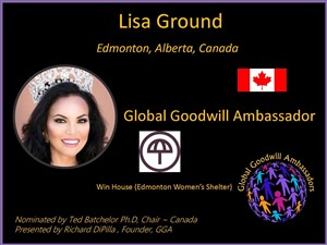 Lisa Ground - Canada - Global Goodwill Ambassador