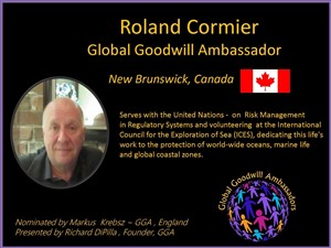 Roland Cormier - Canada - Global Goodwill Ambassador