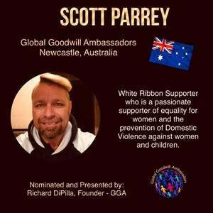 Scott Parrey - Australia - Global Goodwill Ambassador