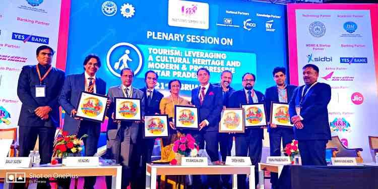 A Book on Kumbh was inaugrated in Tourism Session - Prerana Sharma - Global Goodwill Ambassadors GGA