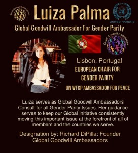 Luiza Palma - Portugal - Global Goodwill Ambassadors - GGA - european chair for gender parity