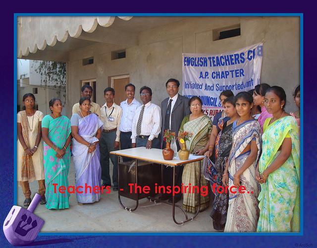 teachers the inspiring force - ravi kumar