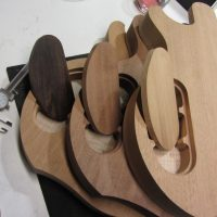 Guitar cavity covers