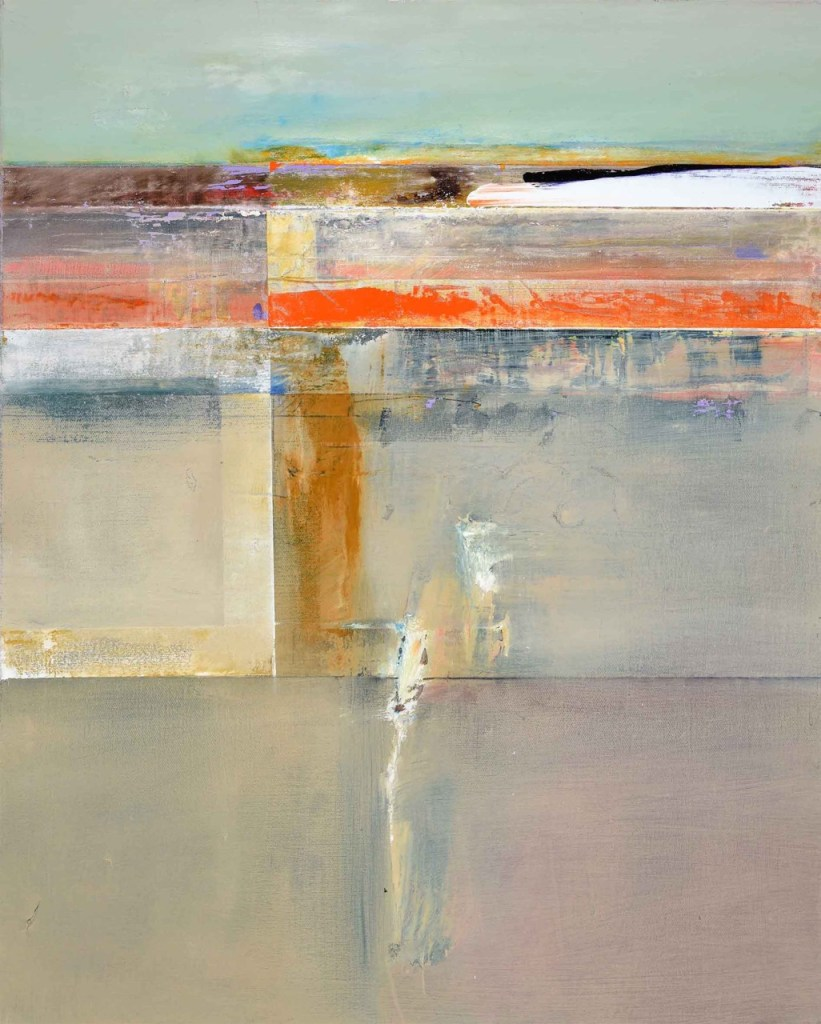 John Waller Transformant 3 oil on linen 70 X 62 cm