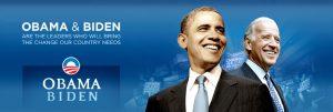 Obama website banner
