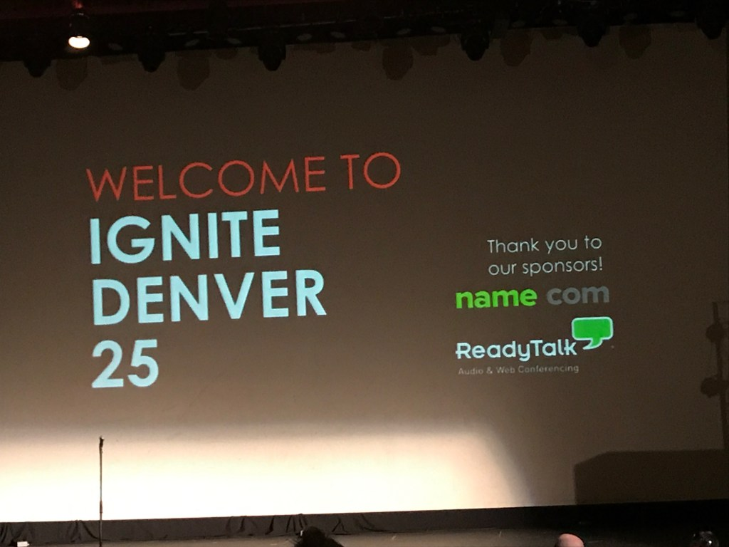 Ignite Denver Turned Twenty-Five
