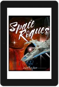 Adventures in book design... A.K.A 'Space Rogues' is complete.