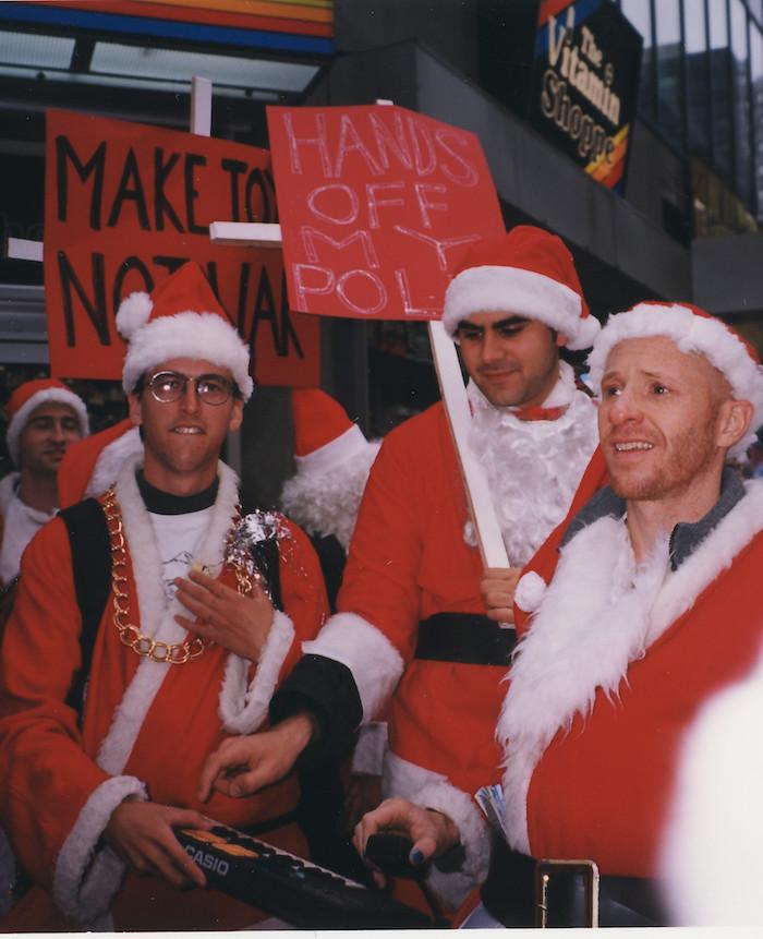Santa NYC 98 Leila Godowski
