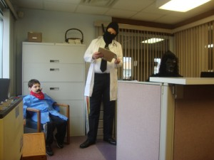 A Day in the Office: A Dr. McNinja Cosplay Story (2/6)
