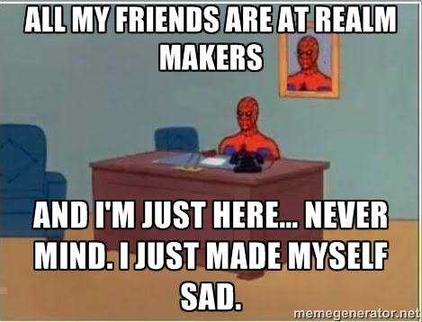 Spiderman Realm Makers meme