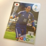 Panini ADRENALYN XL 2014 FIFA WORLD CUP BRASIL 『香川 真司』