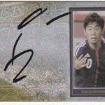 香川真司 日本代表 2014 Futera Unique 直筆サイン 75枚限定