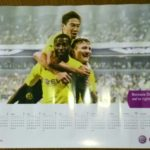 香川真司 ドルトムント カレンダー ポスター 非売品 日本代表 #香川真司 #サッカー #followme