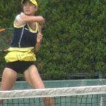 「かわいすぎるテニスプレーヤー」美濃越舞(みのこしまい)選手 #スポーツニュース #followme