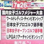 【長野未祈(15)】女子ゴルフ界にニューヒロイン【畑岡奈紗(17)】 #スポーツニュース #followme