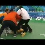 【衝撃映像】オリンピックの試合中に韓国の選手がブチ切れ乱闘 #スポーツニュース #followme