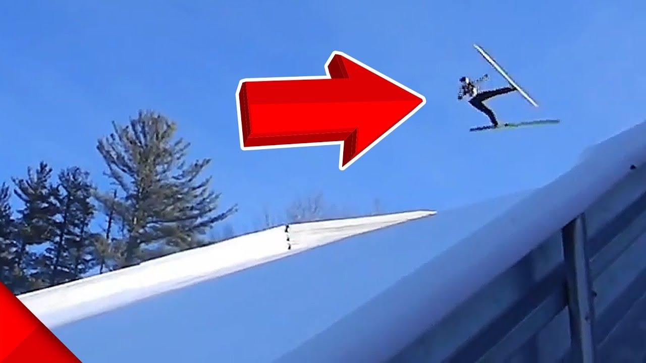 【事故】スキージャンプでのアクシデント映像!リアル視点あり【Video Pizza】 #スポーツニュース #followme