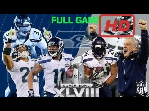 Super Bowl XLVIII: Seahawks First Super Bowl Win | Seahawks vs. Broncos | NFL Full Game #スポーツニュース #followme