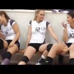 【女子バレー】バレーボールの女の子と面白いブレーク瞬間 #スポーツニュース #followme