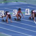 国際ゴールドマスターズ陸上奈良大会 100m W50 2組 #スポーツニュース #followme