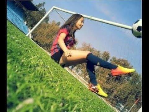 【女子サッカー】バルセロナ所属の可愛い選手のテクニック! #トラベル #旅行 #followme
