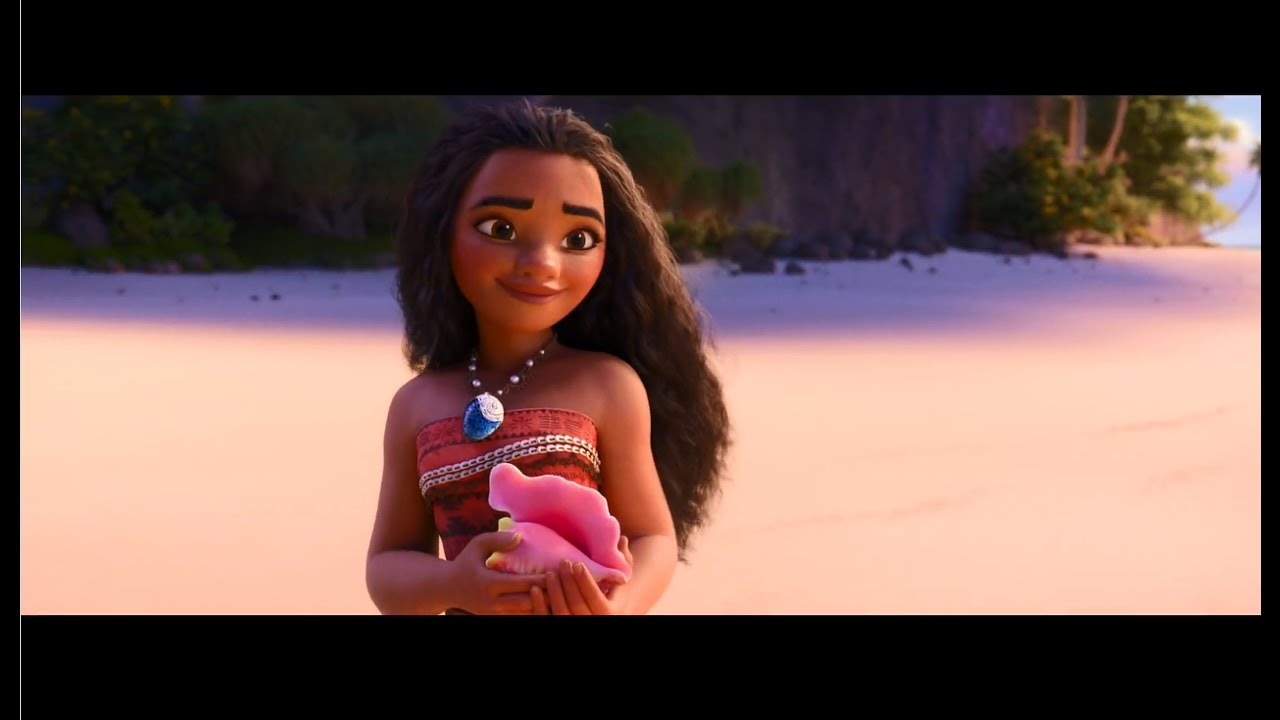 「モアナと伝説の海」予告 #ディズニー #Disney #followme