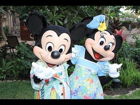 ハワイにディズニーリゾート誕生=ミッキーやミニーと触れ合える #ディズニー #Disney #followme