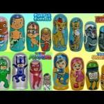 コンパイルネストMatryoshka Dolls:PJマスク、ライオンガード、Umizoomi、バブルGuppies Surprise / TUYC #ディズニー #Disney #followme