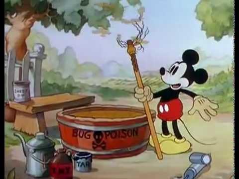 76 ミッキーの害虫退治 Mickey's Garden 19350713 #ディズニー #Disney #followme