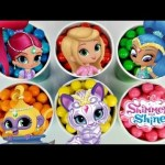 ニコロデオンSHIMMER&SHINE Gumball Toy Surprises with Leah、NEW Dolls Play Set、Learn Colors / TUYC #ディズニー #Disney #followme