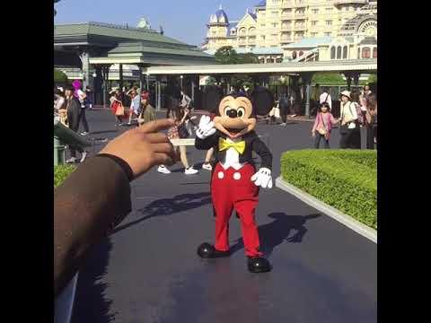ウォルトの仮装でミッキーに会いに行った #ディズニー #Disney #followme