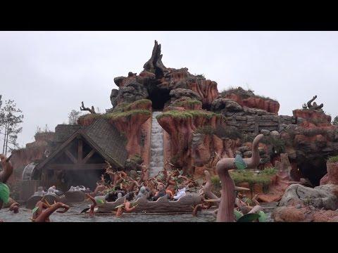 【WDWスプラッシュマウンテン】Splash Mountain POV 乗車動画 #ディズニー #Disney #followme