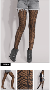 ASOS Spider Net Tights (+)