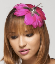 Oversized Feather Flower Headband