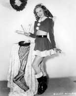 xmas Janet Blair 1945