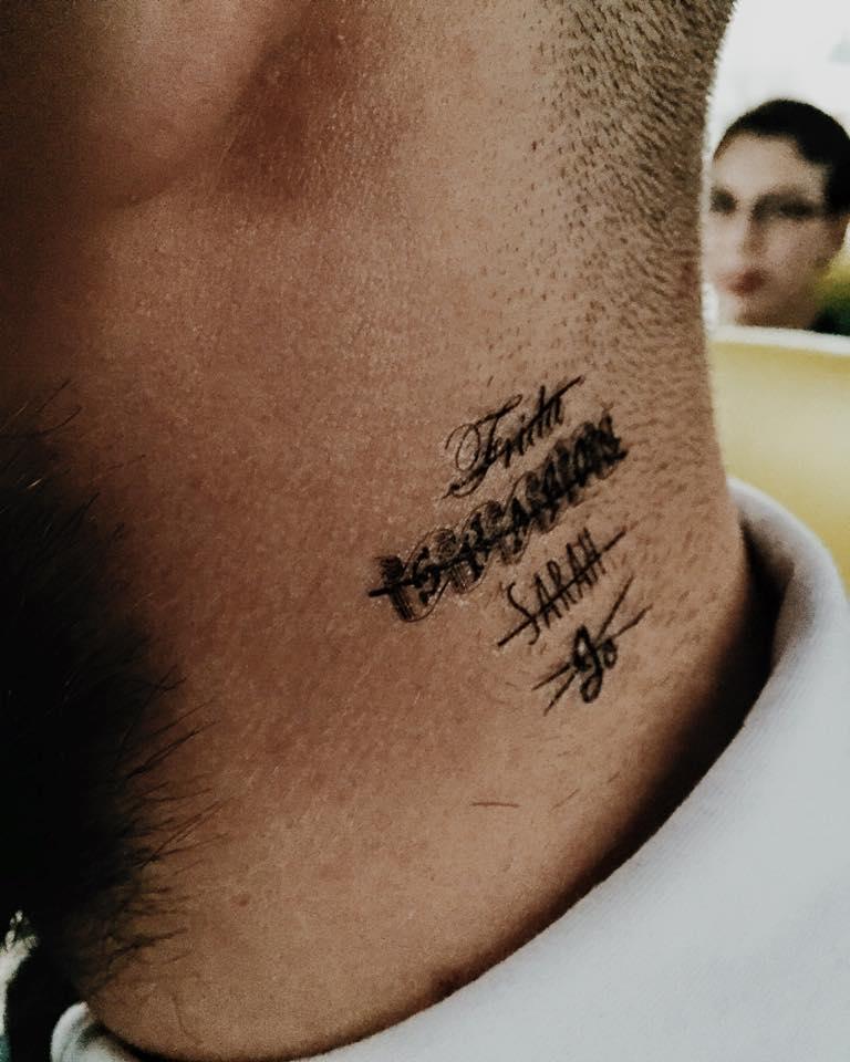 Neck Henna Tattoo Designs