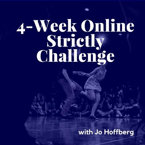 4wk Online Strictly Challenge  w Jo Hoffberg